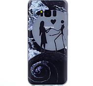For Samsung Galaxy S8 S8Plus Dancing Pattern Relief Luminous TPU Material Phone Case Galaxy S3 S4Mini S5 S6 S7 S6 S7 (Edge) S6 Edge Plus