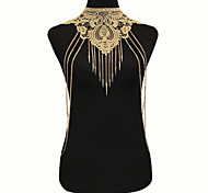 Women's Body Jewelry Body Chain Fashion Bohemian Gothic Lace Alloy Jewelry For Special Occasion Casual