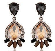 cheap -Women's Crystal Crystal Drop Earrings - Floral Geometric Geometric For Party Daily Casual