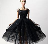 Недорогие -Принцесса Платья Для Кукла Барби Платья Для Девичий игрушки куклы