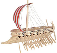 Набор для творчества Конструкторы 3D пазлы Обучающая игрушка Пазлы Деревянные пазлы Игрушки Военные корабли Корабль Муж. Жен. Детские