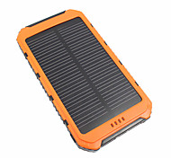 cheap -10000mAh Power Bank External Battery 5V 3.1A # Battery Charger Waterproof Multi-Output Solar Charge LED
