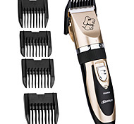 Cat Dog Grooming Cleaning Clipper & Trimmer Portable Wireless Double-Sided Foldable Rainbow
