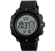 SKMEI Муж. Спортивные часы Армейские часы Модные часы электронные часы Японский Цифровой LED Календарь Секундомер Защита от влаги тревога