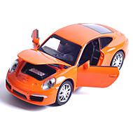 abordables -Maqueta de coche Vehículos de tracción trasera Coche de carreras Juguetes Música y luz Juguetes Metal Piezas Unisex Regalo