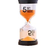 abordables -Reloj de Arena Juguetes Cilíndrico Vidrio El plastico Unisex Piezas
