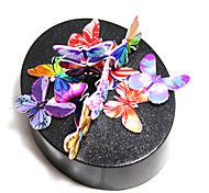 Magnetic Sculpture DIY KIT Magnet Toys Educational Toy Metal Puzzles Stress Relievers 1 Pieces Toys Magnetic Circular Butterfly Gift