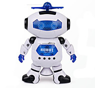 cheap -Space Dance Music Infrared Electric Robot Toy Rotate 360 Degrees Lights