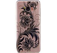 Кейс для Назначение SSamsung Galaxy S8 Plus S8 Прозрачный С узором Задняя крышка Кружева Печать Цветы Мягкий TPU для S8 S8 Plus S7 edge