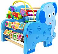 Недорогие -Конструкторы Обучающая игрушка Игрушечные счеты Для получения подарка Конструкторы Слон Дерево 2-4 года 5-7 лет Игрушки