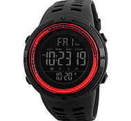 cheap -SKMEI 1251 Men's Woman Watch Double Significant Outdoor Sports Watch Mountain Climbing Waterproof Electronic Watch Male LCD Students Multi - Function