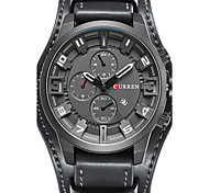 CURREN Men's Sport Watch Military Watch Dress Watch Fashion Watch Bracelet Watch Unique Creative Watch Casual Watch Wrist watch Japanese