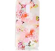 Для Чехлы панели Прозрачный Рельефный С узором Задняя крышка Кейс для Цветы Мягкий TPU для Nokia Nokia 6