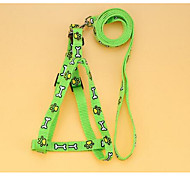 Harness Leash Safety Flower Nylon