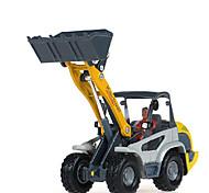abordables -KDW Vehículo de construcción Cargador de Ruedas Camiones y vehículos de construcción de juguete Coches de juguete Vehículos de tracción