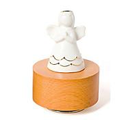 Недорогие -музыкальная шкатулка Игрушки Цилиндрическая Керамика Дерево Куски Универсальные Подарок