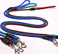 cheap -Dog Leash / Slip Lead Adjustable / Retractable Blue / Random Color / Dark Green