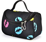 Cosmetic Bag Lip Print Quadrate Others
