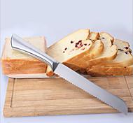 abordables -Coupe Gâteau Pain Acier inoxydable Economique Haute qualité Vacances Papier à cuire