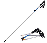 5 Nordic Walking Poles 135cm (53 Inches) Damping Foldable Adjustable Fit Light Weight Aluminum Alloy 7075Camping & Hiking Snowshoeing
