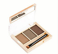 1Pcs 3 Colors Professional Eyebrow Powder Makeup