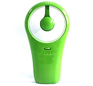 La celebración de un mini ventilador usb ventilador de doble uso de la célula seca pequeño ventilador de mano torbellino