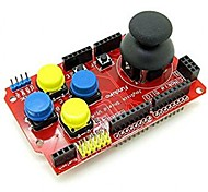cheap -Joystick Shield Module Game Rocker Button Controller Expansion Board For Arduino Simulated Keyboard Mouse