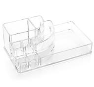 Акриловая прозрачная косметика макияж подставка для хранения кисть горшок организатор для помады лак для ногтей