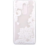 For Huawei Honor 6X P8 Lite (2017) Case Cover Diagonal Flower Pattern HD TPU Phone Shell Material Phone Case