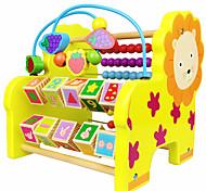 Недорогие -Конструкторы Обучающая игрушка Игрушечные счеты Для получения подарка Конструкторы Лев Дерево 2-4 года 5-7 лет Игрушки