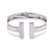 cheap -Women's Bangles - Friends Fashion Bracelet Gold / Silver For Party / Gift / Valentine