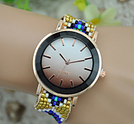 cheap -Women's Bracelet Watch Fashion Watch Wrist watch Quartz Fabric Band Bohemian Black Blue Red Green Pink Purple Rose