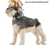 Недорогие -Кошка Собака Рождество Парики Одежда для собак Очаровательный Косплей День рождения Праздник На каждый день Мода Спорт Хэллоуин Новый год