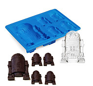 cheap -1Pcs  New Durable Silicone R2D2 Ice Cube Mold Cookies Chocolate Suger Baking Mould DIY Kitchen Tool