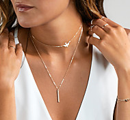 cheap -Women's Choker Necklace Pendant Necklace - Dangling Style Pendant Necklace For Wedding Party Anniversary Birthday Graduation Gift Daily