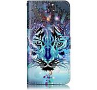Для iphone 7 плюс 7 тигр узор лакирование тиснение кожаный материал кожаный чехол для телефона 6s плюс 6s 6 5s se 5