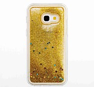 For Samsung Galaxy A3(2017) A5(2017) Flowing Liquid Case Back Cover Case Glitter Shine Soft TPU for A5(2016) A3(2016)
