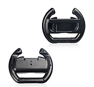 cheap -Wheel Steering Case For Switch Joy-Con Controller 2pcs (Set of 2) Black