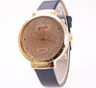 preiswerte -Damen Quartz Pavé-Uhr Armbanduhr Chinesisch sternenklar PU Band Charme Elegant Modisch Schwarz Weiß Rot Braun Lila