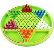 Недорогие -Настольные игры Игрушки Большой размер Круглый Дерево Куски Универсальные Подарок