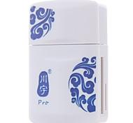 Недорогие -Kawau usb2.0 кард-ридер многофункциональный считыватель карт памяти micro sd tf card / sd card / memory stick
