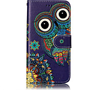 cheap -For Huawei P10 Lite P8 Lite (2017) PU Leather Material Owl Pattern Relief Phone Case P10 Plus P10 P9 Lite P8 Lite