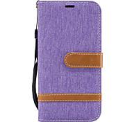 Для Samsung Galaxy a5 (2017) a3 (2017) цветной футляр для телефона джинс a510 a310