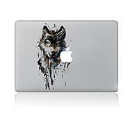 Недорогие -1 ед. Защита от царапин Животный принт Прозрачный пластик Стикер для корпуса Узор ДляMacBook Pro 15'' with Retina MacBook Pro 15 ''