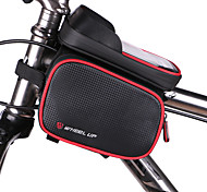 cheap -Bike Frame Bag Cell Phone Bag 5 inch Waterproof Waterproof Zipper Wearable Multifunctional Touch Screen Cycling for Iphone 8 / 7 / 6S / 6
