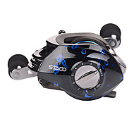 Hiumi Baitcasting Fishing Reel 131 Ball Bearings Casting Reel Magnetic Braking System Baitcaster with Stainless Ball Bearings Reel