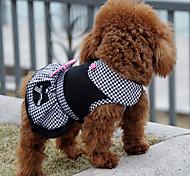 Собаки Платья Одежда для собак Зима Лето Весна/осень ПринцессаМилые Праздник Мода На каждый день Спорт Классика Свадьба День рождения