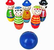 Недорогие -Конструкторы Обучающая игрушка Для получения подарка Конструкторы Круглый Цилиндрическая Дерево 2-4 года 5-7 лет Игрушки