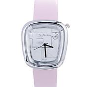 cheap -Women luxury Brand Fashion Square Casual Quartz Unique Stylish Watches Small Female Leather Sport Men Watch