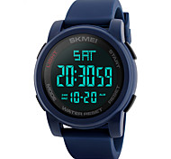 SKMEI® 1257  Men's Woman Watch Outdoor Sports Multi - Function Watch Waterproof Sports Electronic Watches 50 Meters Waterproof
